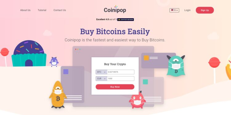 coinipop home page